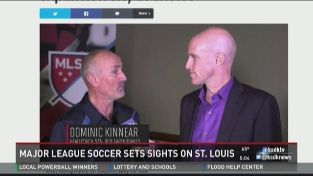 Major League Soccer sets sights on St. Louis