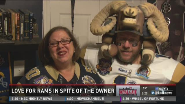 Love for Rams in spite of the owner
