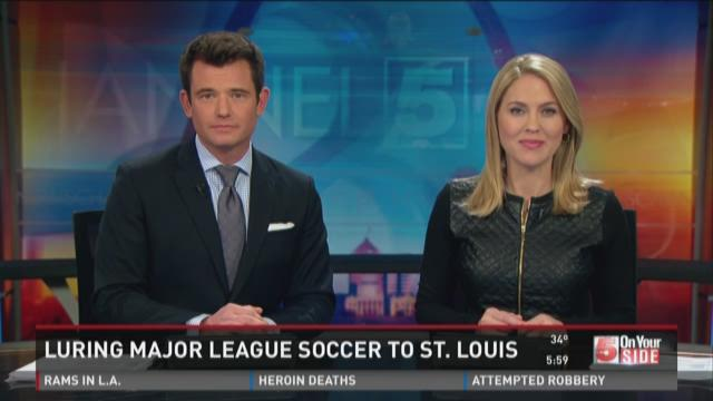 Luring Major League Soccer to St. Louis