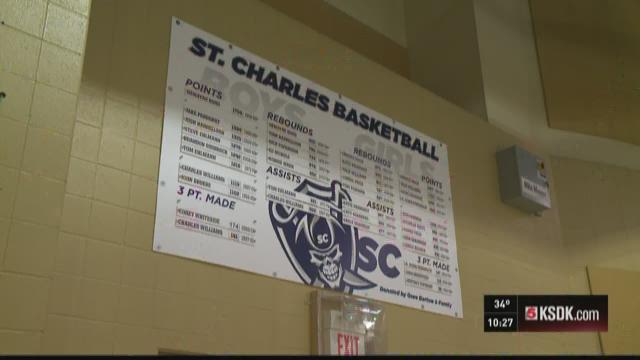 Teson breaks St.Charles' scoring record in style