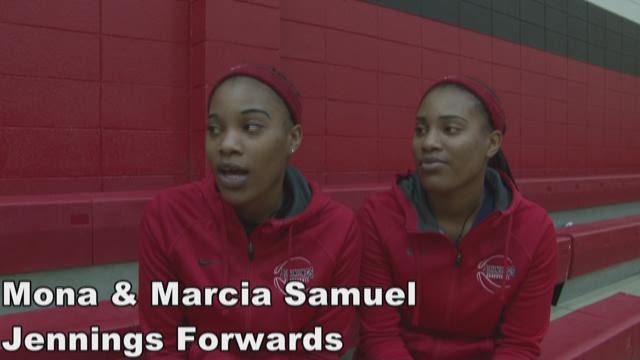 Samuel sisters helping Jennnigs make postseason run