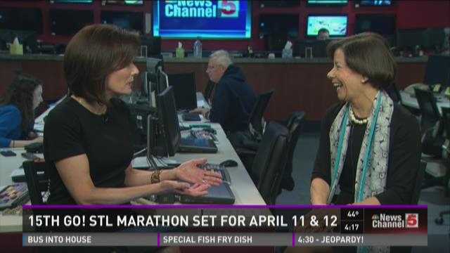15th GO! STL marathon set for April 11 & 12