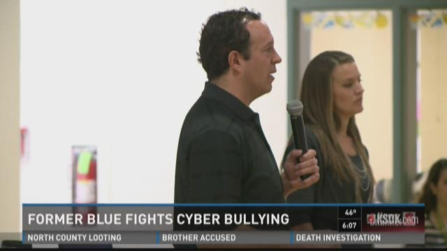 Former Blues player fights cyber bullying