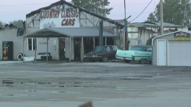 Ksdk Com Fire Damages Country Classic Cars In Staunton