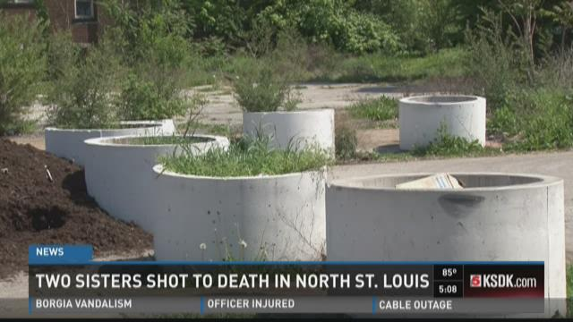 Two sisters shot to death in north STL