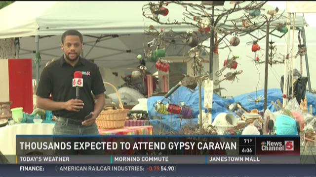 Thousands expected to attend gypsy caravan