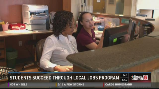 Students succeed through local jobs program