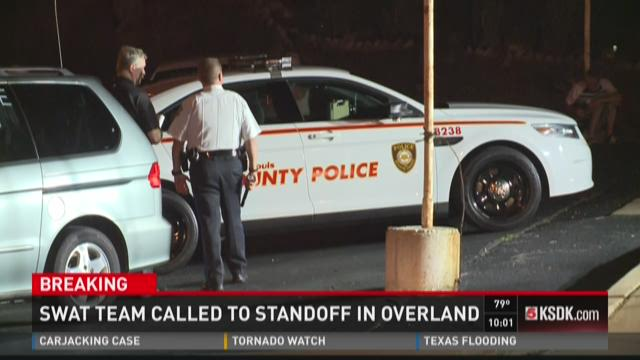 SWAT team called to standoff in Overland