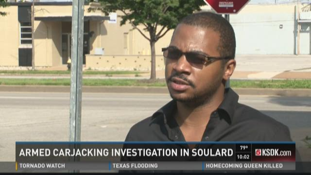 Armed carjacking investigation in Soulard