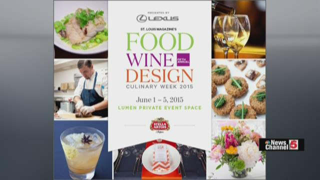 Food Wine Design offers the best chefs, wines and flair in St. Louis