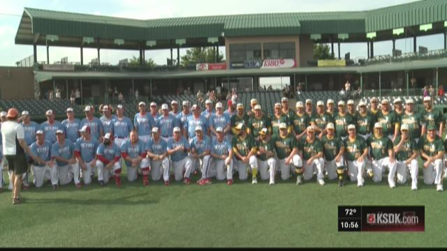 Teams play 70 hours of baseball to benefit charity
