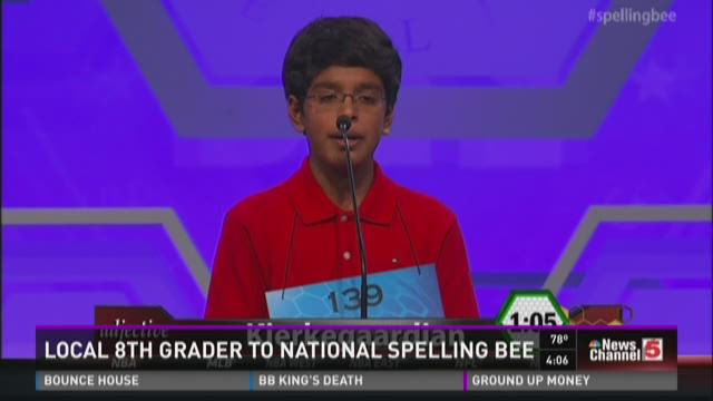 Local 14-tyear-old returning to D.C. for National Spelling Bee
