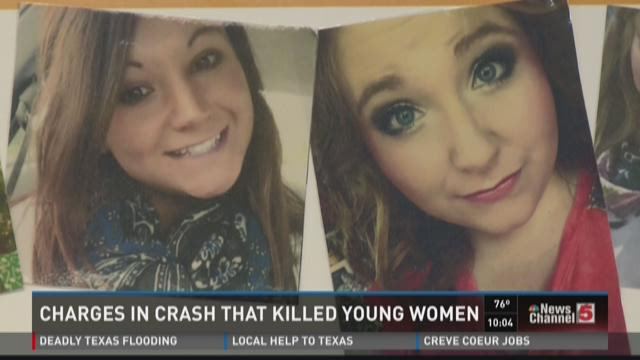 Charges in crash that killed young women