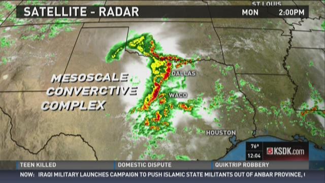 Mike Roberts explains Texas flooding
