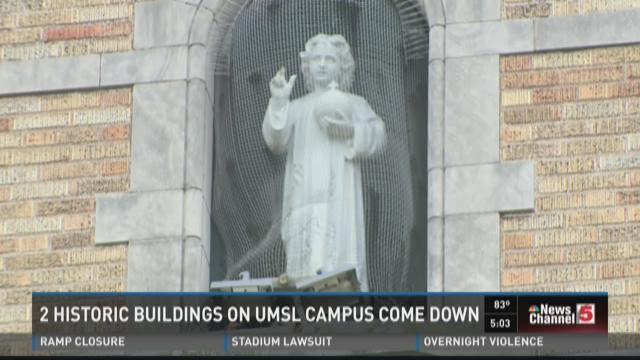 Two historic UMSL buildings set for demolition