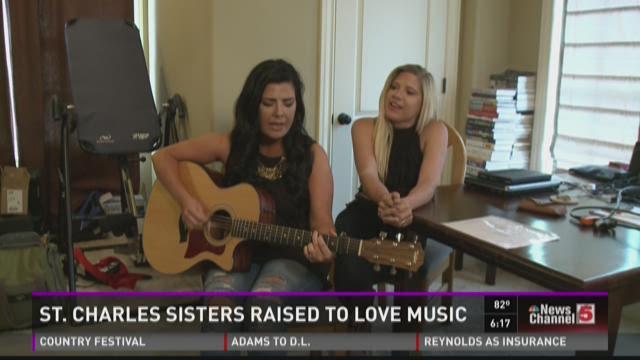 St. Charles sisters raised to love music