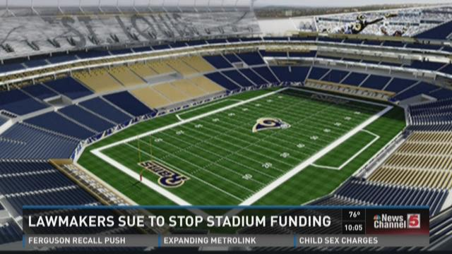 Missouri lawmakers file lawsuit over Rams stadium