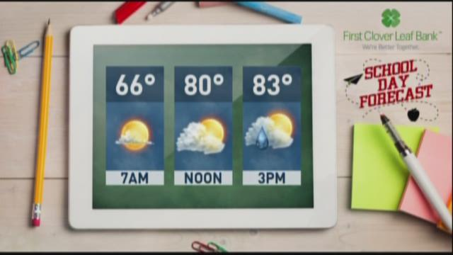 Scott Connell's early Thursday forecast