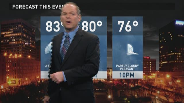 Scott Connell's Thursday forecast
