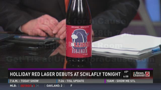 Holliday Red Lager debuts at Schlafly