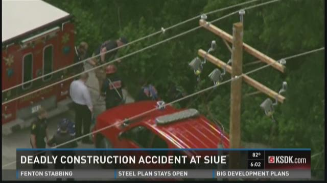 Deadly construction accident at SIUE