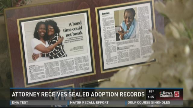 Attorney receives sealed adoption records