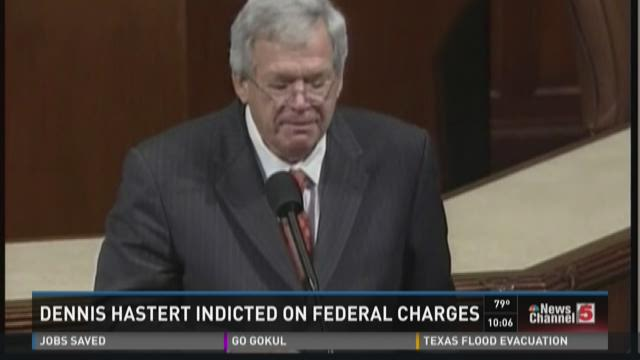 Dennis Hastert indicted on federal charges