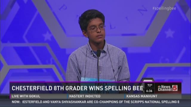 Interview with spelling bee winner Gokul Venkatachalam