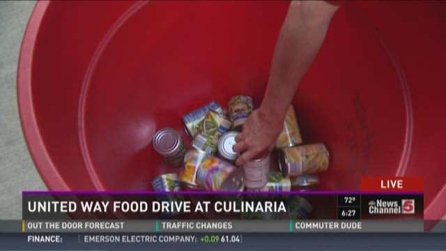 United Way drive at Culinaria