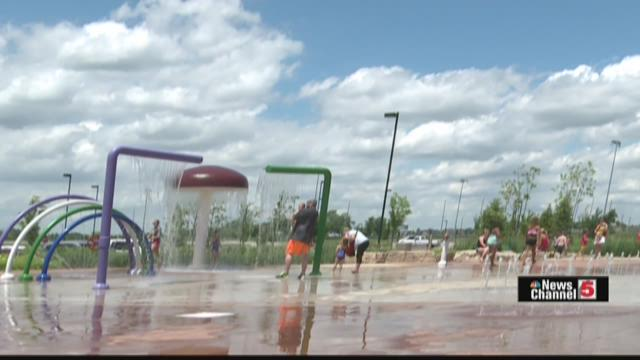 Splash Pad in O'Fallon, IL