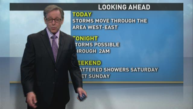 Mike's Afternoon Forecast