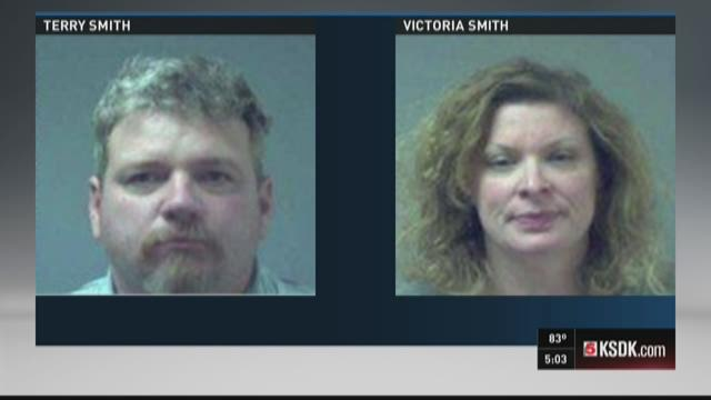 Couple who caged son sentenced to prison
