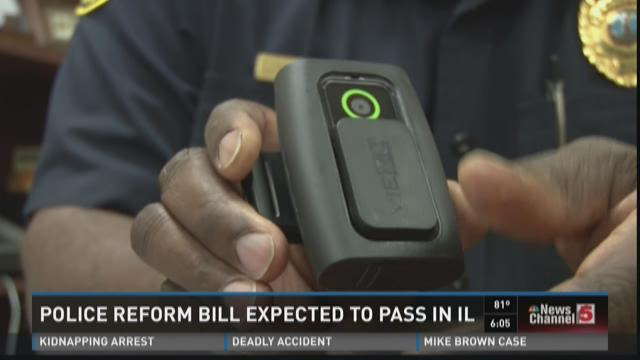 Police reform bill expected to pass in Illinois