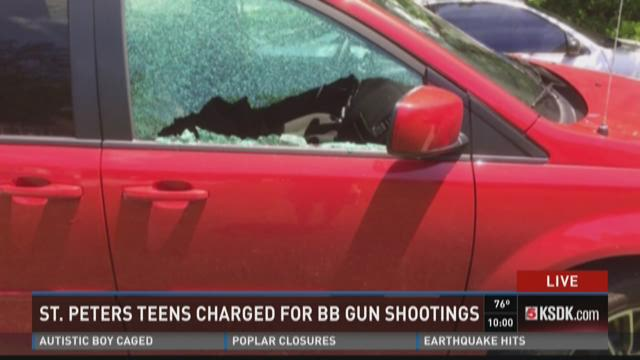 St. Peters teens charged for BB gun vandalism