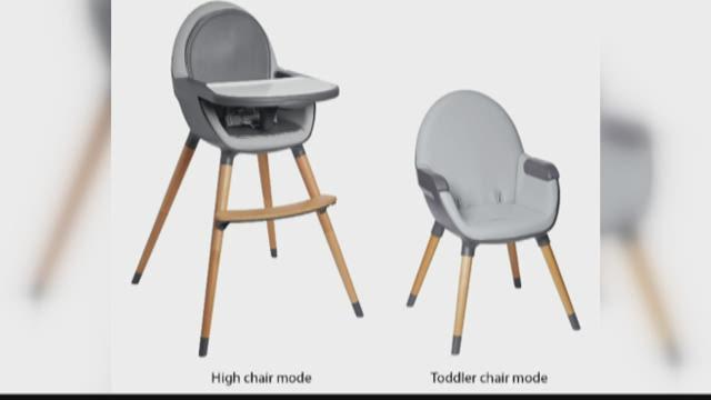 Skip Hop recalls high chairs due to fall hazard