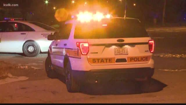 Man barricaded in vehicle after police pursuit from St. Louis