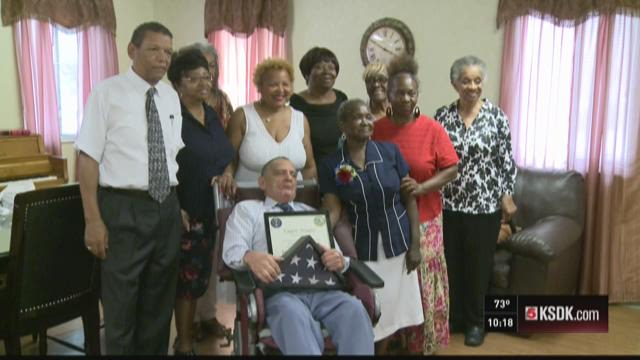 Hospice for Heroes honors local Vietnam Vet.
