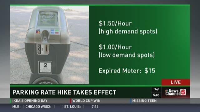 St. Louis raising parking meter fees