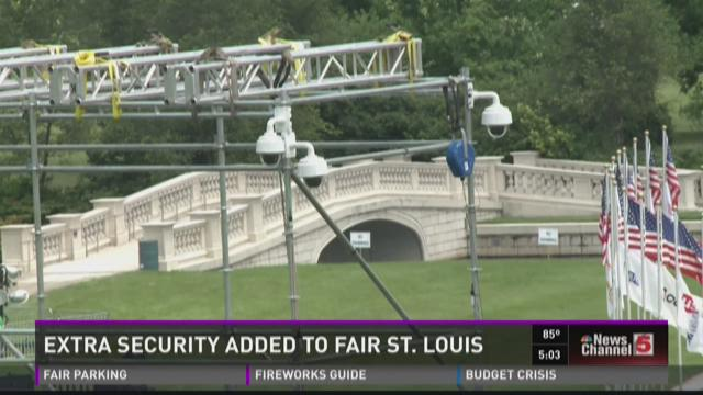 Extra security added to Fair St. Louis