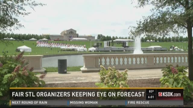 Fair STL organizers keeping eye on forecast