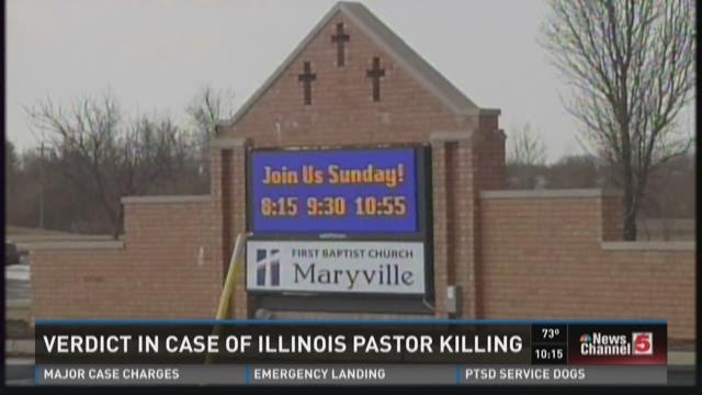 Verdict in case of Illinois pastor killing