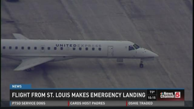 Flight from St. Louis makes emergency landing