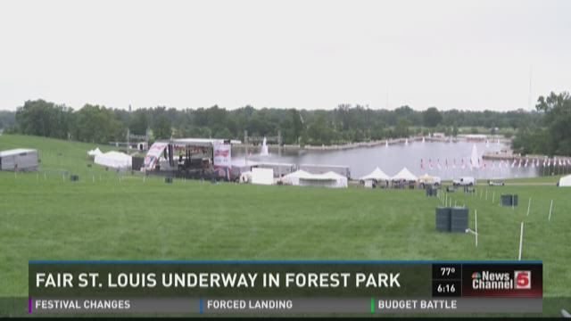 Fair St. Louis underway in Forest Park