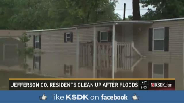 Jefferson Co. residents clean up after floods