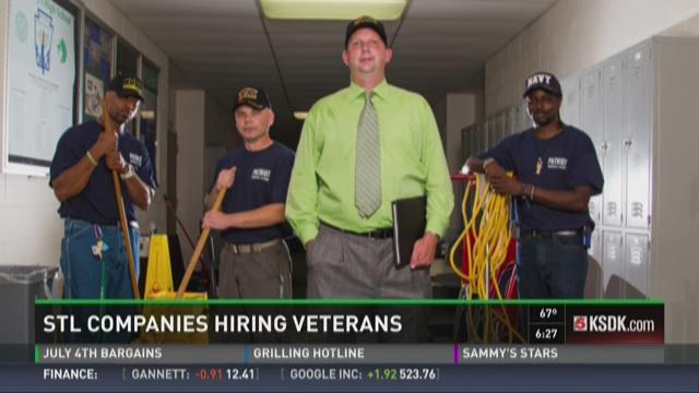STL companies hiring veterans