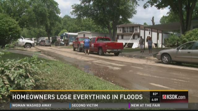 Homeowners lose everything in floods