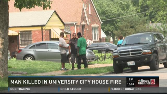 Man killed in University City house fire