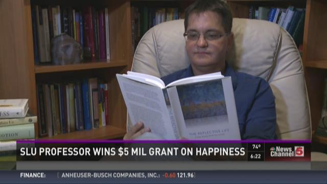 SLU professor wins $5M grant on happiness