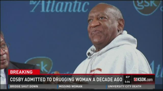 Cosby admitted to drugging woman a decade ago