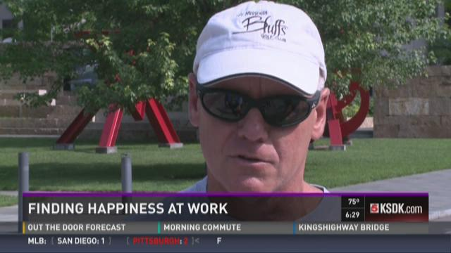 Finding happiness at work